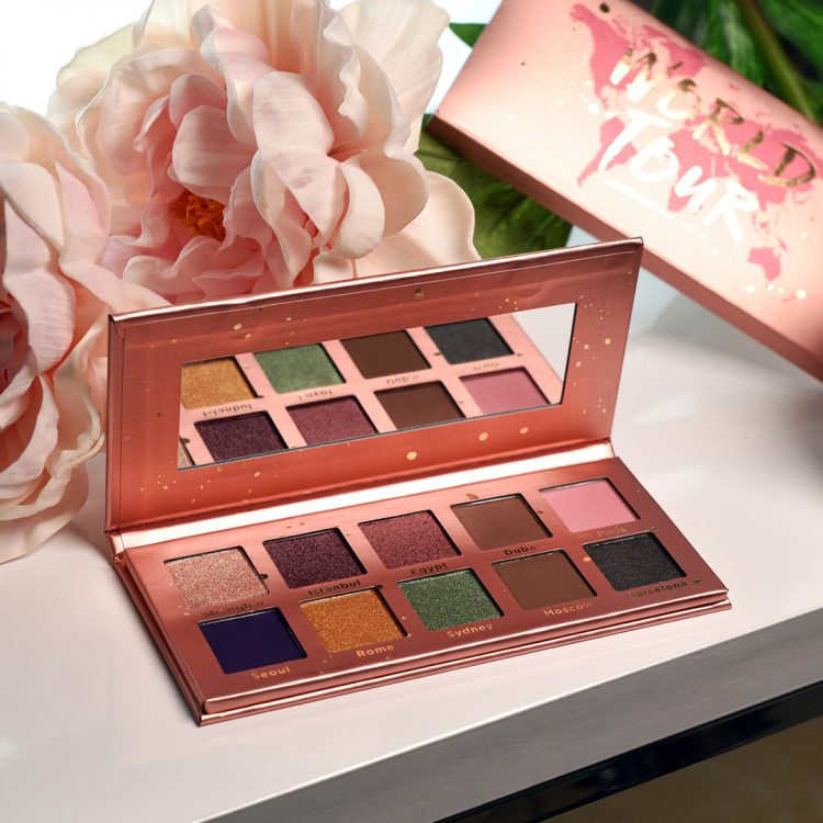 World Tour Palette with Flower Props